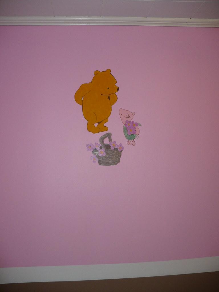 Winnie the pooh classic mural 3 leigh ann fowler flickr for Classic pooh mural