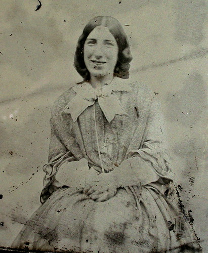 Smiling 1850s Lady | by LJMcK