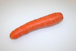 03 - Zutat Möhre / Ingredient carrot