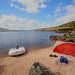 Base camp Loch Laidon