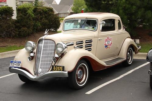 1934 Hudson 8 Coupe 2009 Het National Meet Pontiac