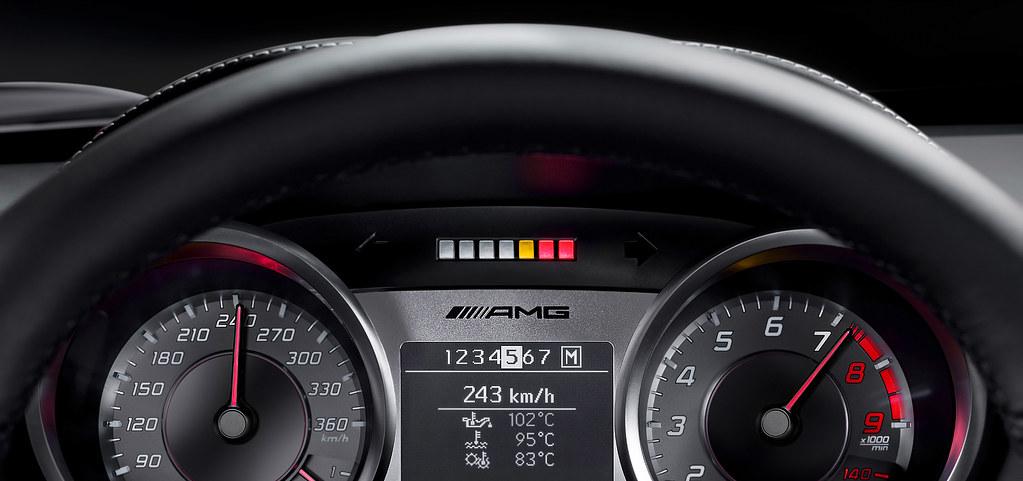 Mercedes Benz Sls Amg Dashboard The Mercedes Benz Sls