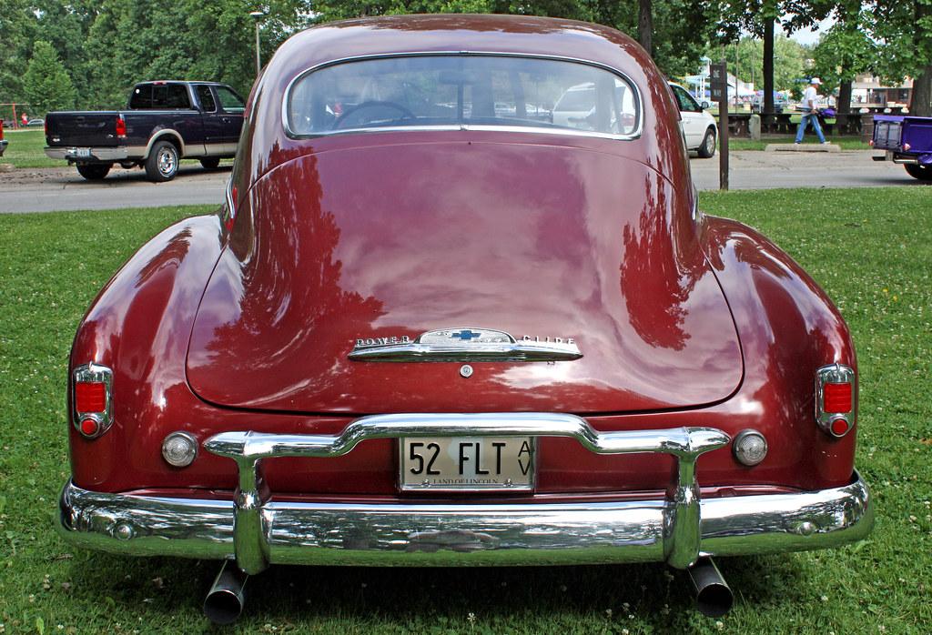 1952 Chevrolet Fleetline Deluxe 2-Door Fastback (15 of 15 ...