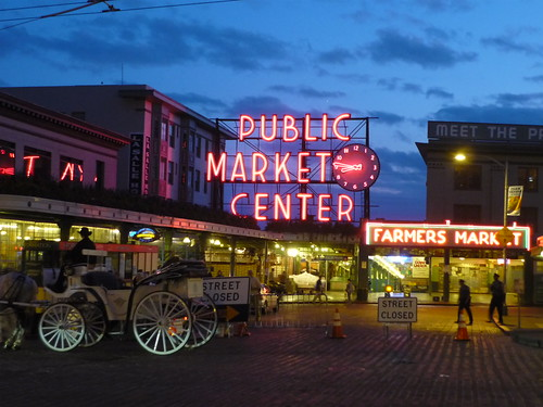 Pike Market after dark | by authorwannabe