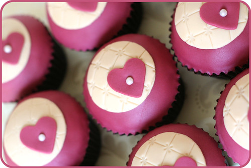 Heart Cupcakes | by Natty-Cakes (Natalie)