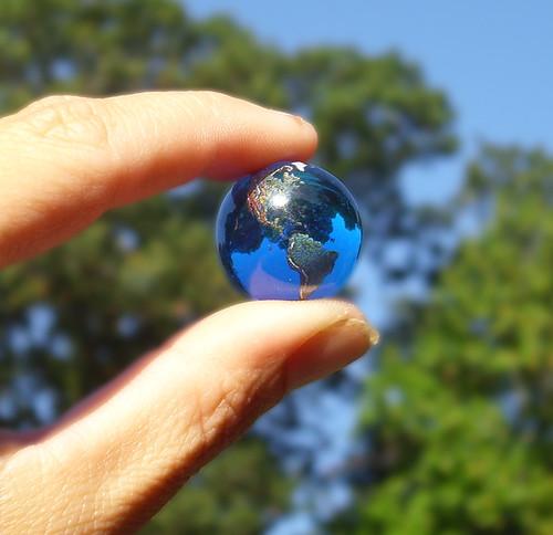 Earth Marble Whole World