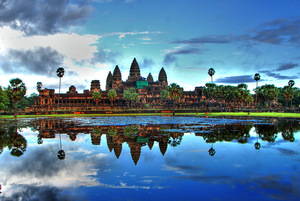 Angkor Wat Cambodia | Angkor Wat in HDR. taken in the aftern ...
