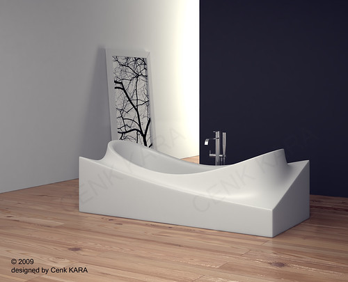 Bathtube Design | by Cenk Kara - Designer