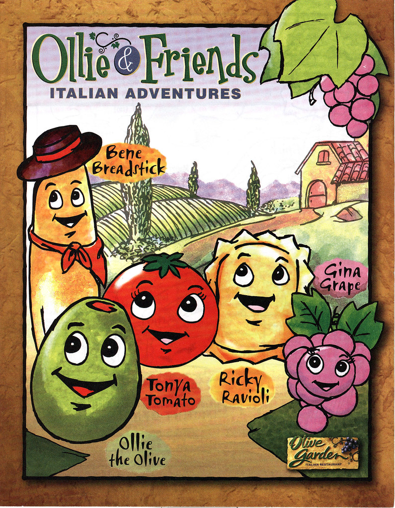 Ollie Friends Italian Adventures Olive Garden Childrens Flickr