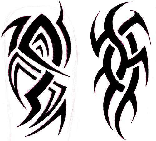 tribal designs for the arm bobbytatt flickr. Black Bedroom Furniture Sets. Home Design Ideas