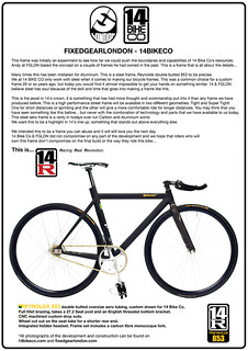 14R Press Release December 09 | by Fixedgearlondon / Fixed Magazine