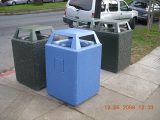 New trash receptacle pods | by Dolores Park Works