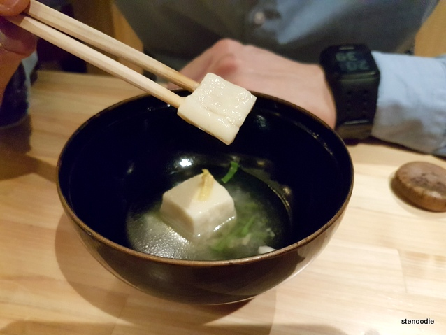 almond paste tofu