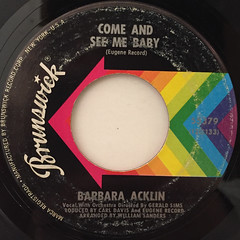 BARBARA ACKLIN:LOVE MAKES A WOMAN(LABEL SIDE-B)