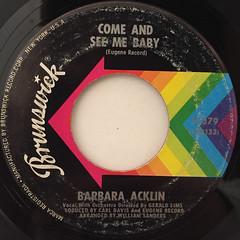 BARBARA ACKLIN:LOVE MAKES A WOMAN(LABEL SIDE-B)