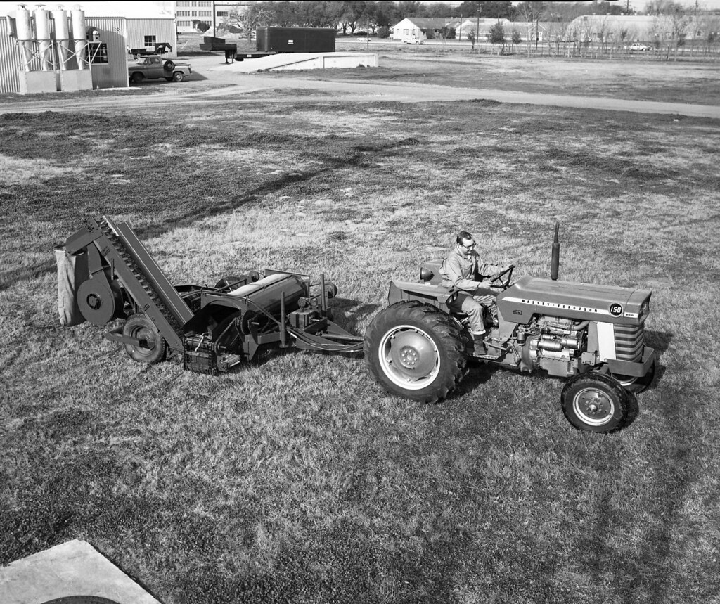 Pecan Harvesting Equipment | Title: Pecan Harvesting ... Negative Sign