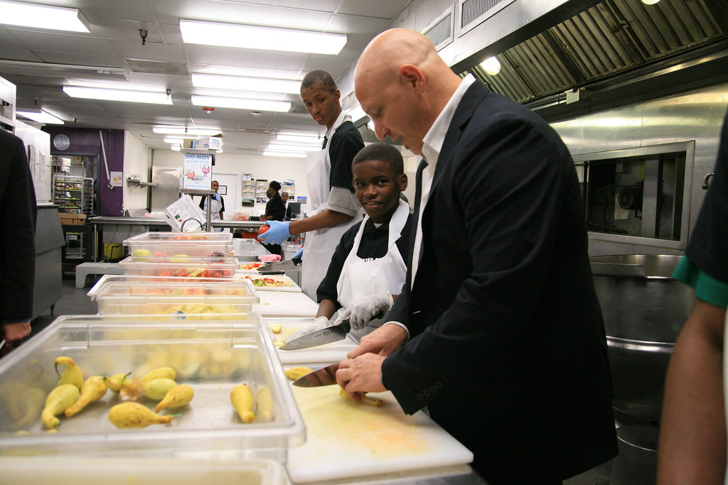 Tom Colicchio Visits Dc Central Kitchen | Dc Central Kitchen | Flickr