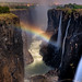 Victoria Falls at night