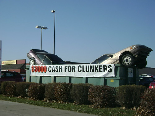 cash for clunkers locationresearch flickr. Black Bedroom Furniture Sets. Home Design Ideas