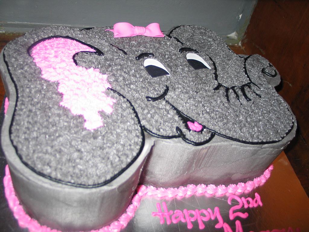 Dumbo head birthday cake Charlys Bakery Flickr