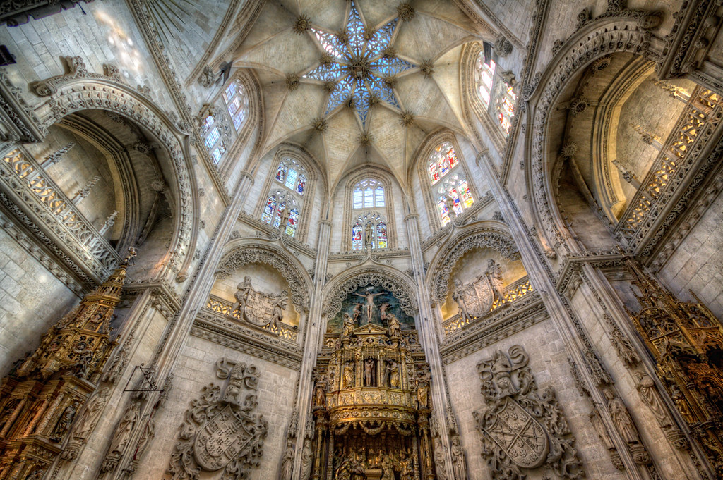 Burgos Cathedral – Catedral de Burgos HDR 4 | HDR from ...  Burgos Cathedra...