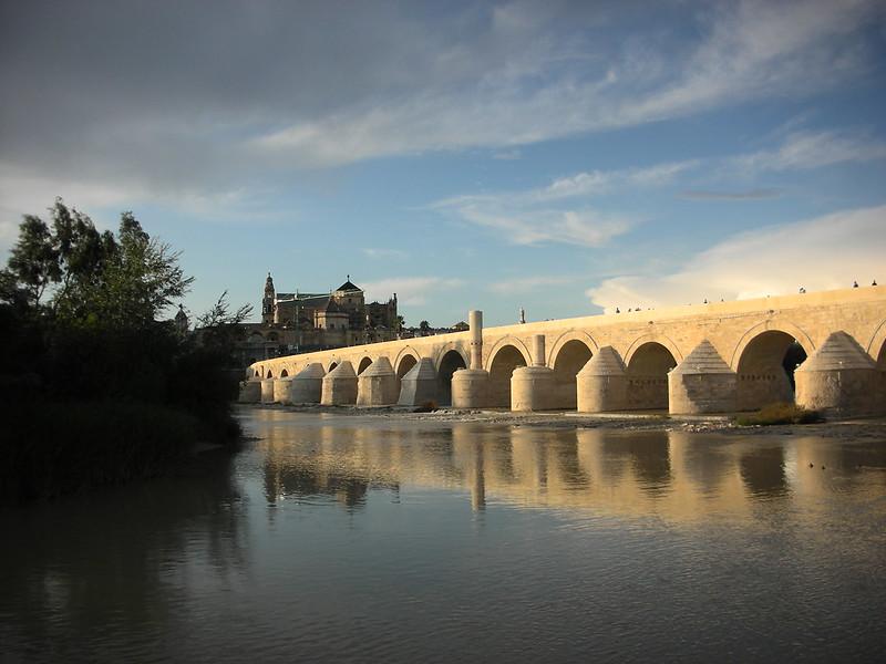 Roman Bridge, Gate of the Bridge, Calahorra Tower, and Surrounding Areas, Cordoba, SPAIN