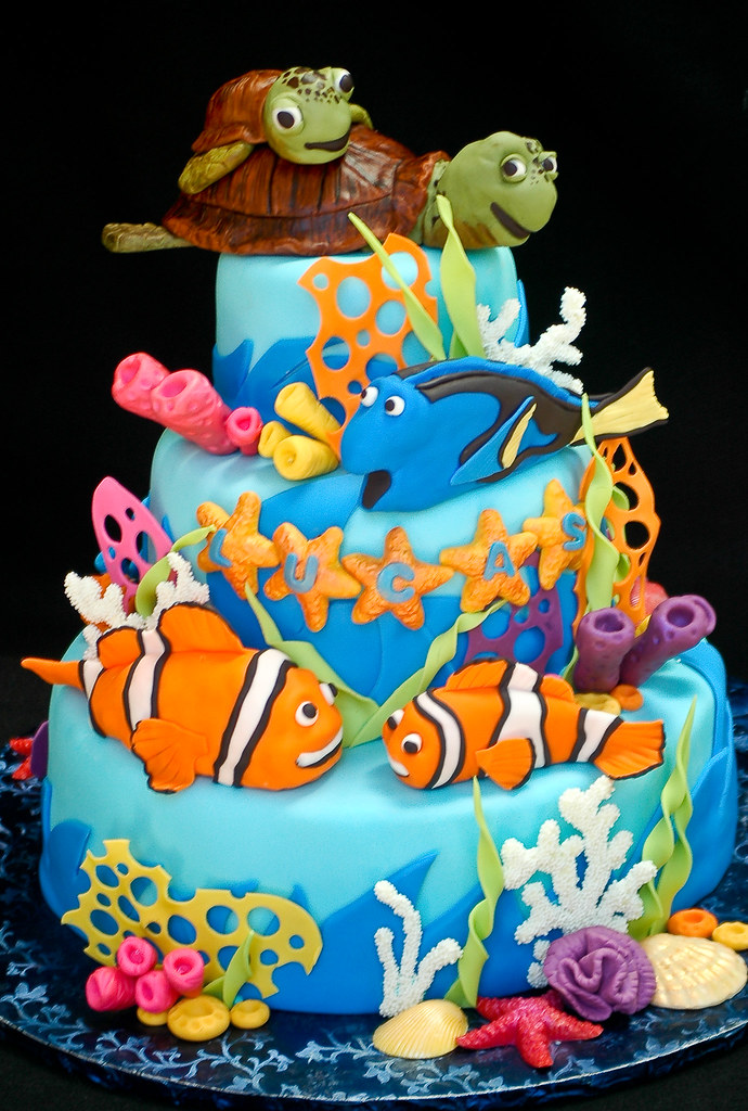 How To Make Nemo Cake Decorations