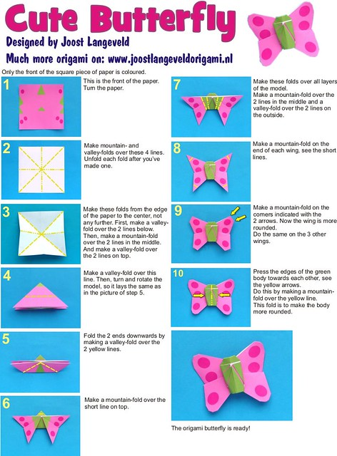 How To Make An Origami Bow Tie Step By Step
