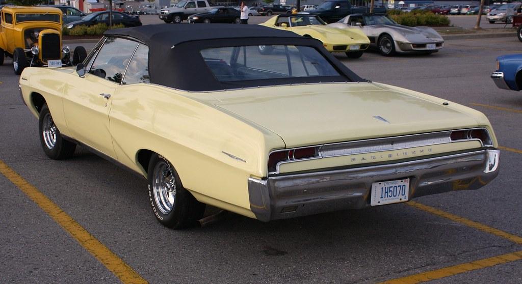 1967 Pontiac Parisienne convertible (Canadian)   Richard ...