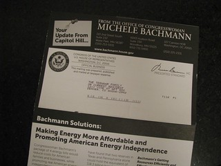 Michele Bachmann Mailer | by spaceman7