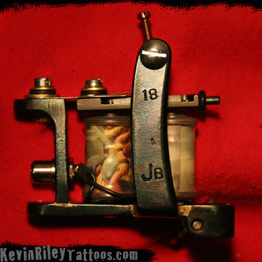 18 of 2009 hand made custom tattoo machines by kevin r for Tattoo machine coil covers