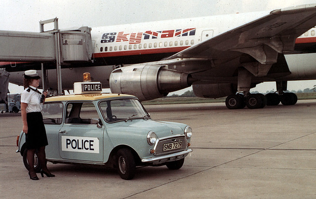 Airport Mini A Greater Manchester Police Officer And One