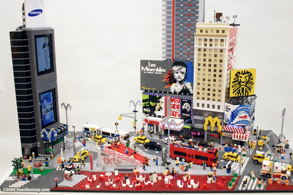LEGO Times Square - Sean Kenney