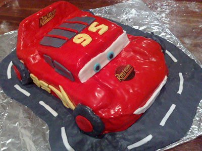 Lightning Mcqueen Cake Mould Uk