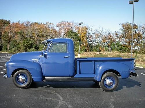 1950 Chevy 3600 (3/4-Ton) 235-Inline-6(105HP) 4-speed-manu ...