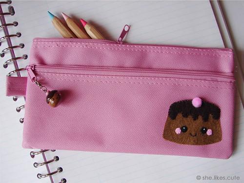 Cute Cake [pencil case] | Available in my DaWanda shop ...