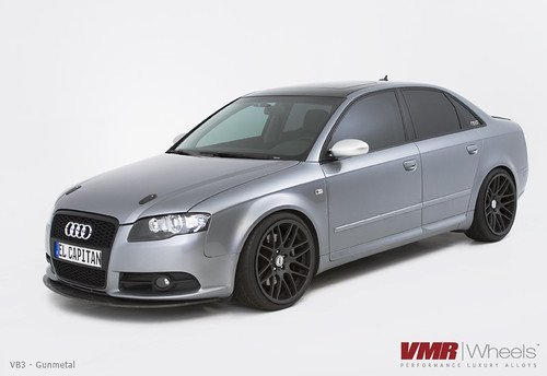 Vmr Wheels 19 Quot Gunmetal Vb3 On Quartz Gray B7 Audi A4