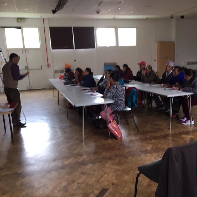 NBC-UK OAP English Language Class