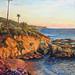 Laguna Beach in oil