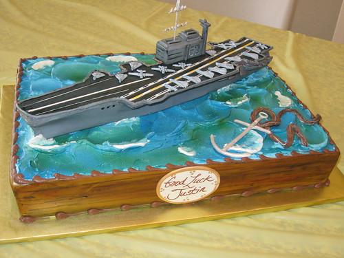 Aircraft Carrier Cake Pan