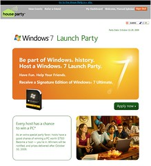 Windows 7 Launch Party | by michperu