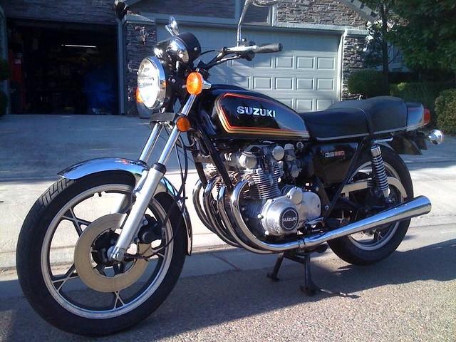78 Suzuki GS550 | Fresno, Ca. | John | Flickr