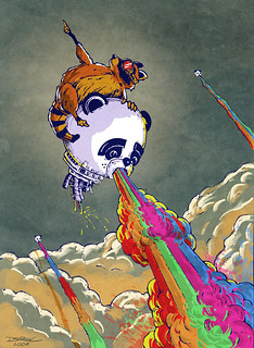 Rainbow Vomiting Pandas: The Escape | by The Searcher