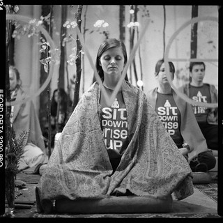 Sit Down, Rise Up meditation marathon | by emptysquare