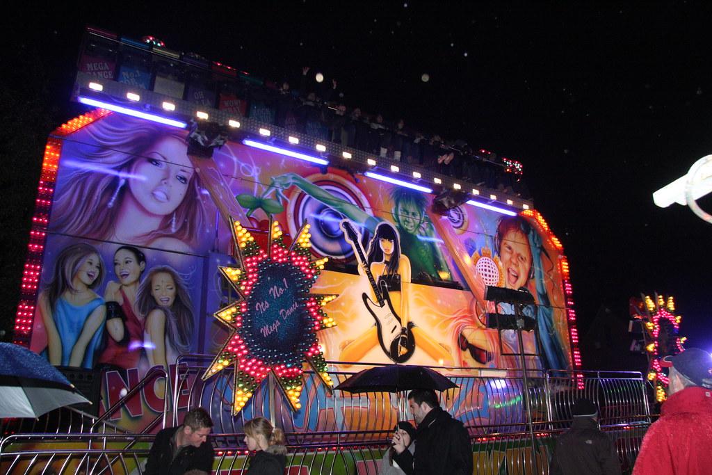 Mega Dance funfair ride  Brian Snelson  Flickr