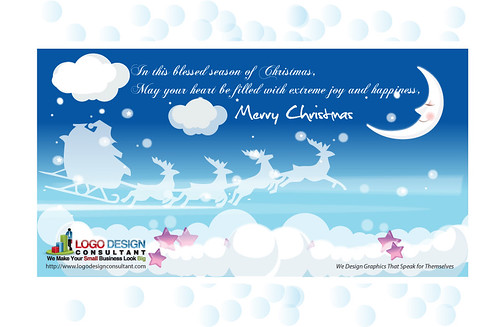 FREE Merry Christmas Greeting E-Card 2 | by Logo Design Consultant
