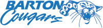Mascot logo thumbnail horizontal - blue