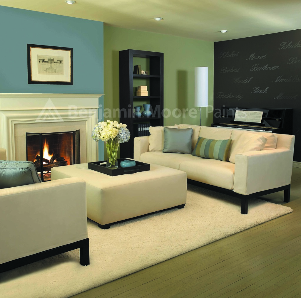 Contemporary Living Room Benjamin Moore Room Photography 2 Flickr