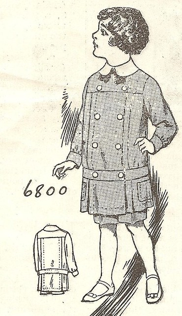 1914 Buster Brown suit   From Needlecraft magazine, Septembe…   Flickr