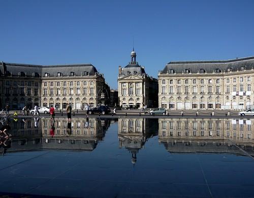 Bordeaux 3 miroir d 39 eau hannelore1302 flickr for Miroir 3 pans